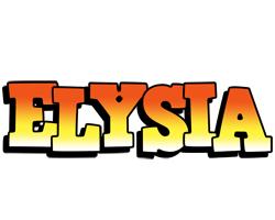 Elysia sunset logo