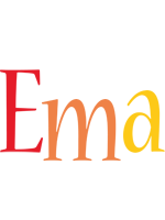 Ema birthday logo