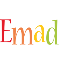 Emad birthday logo