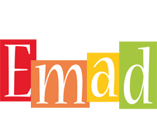 Emad colors logo