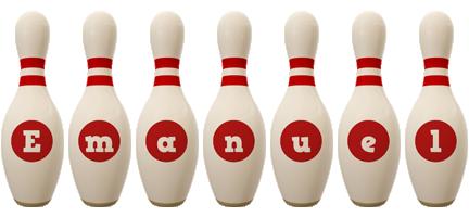 Emanuel bowling-pin logo