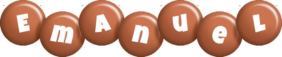 Emanuel candy-brown logo
