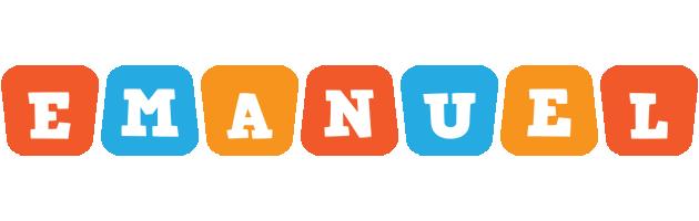 Emanuel comics logo