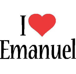 Emanuel i-love logo