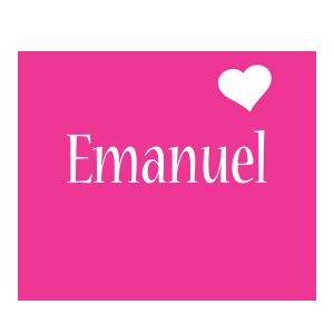 Emanuel love-heart logo