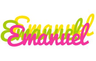 Emanuel sweets logo