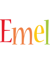 Emel birthday logo