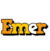 Emer cartoon logo