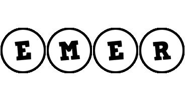 Emer handy logo