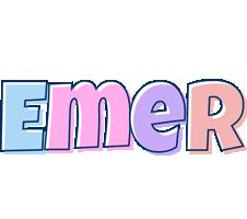 Emer pastel logo