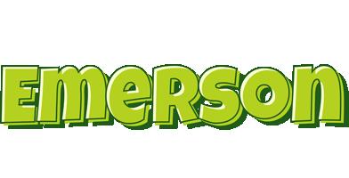 Emerson summer logo