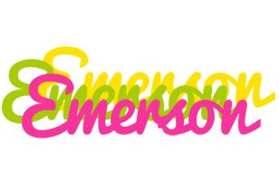 Emerson sweets logo