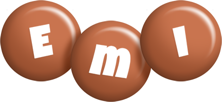 Emi candy-brown logo