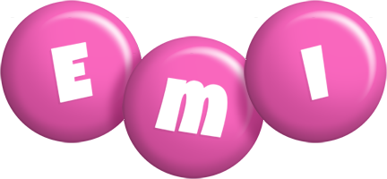 Emi candy-pink logo