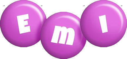 Emi candy-purple logo