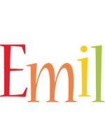 Emil birthday logo