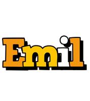 Emil cartoon logo