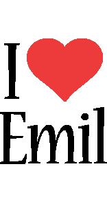 Emil i-love logo