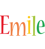 Emile birthday logo