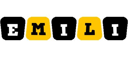 Emili boots logo