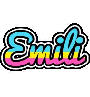 Emili circus logo