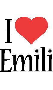 Emili i-love logo