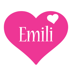 Emili love-heart logo