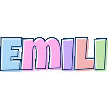 Emili pastel logo