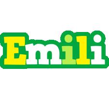 Emili soccer logo