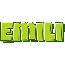 Emili summer logo