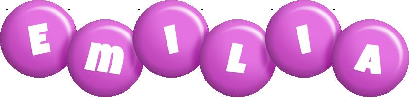 Emilia candy-purple logo
