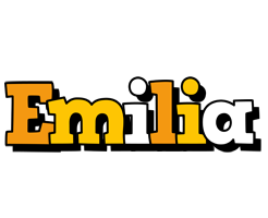 Emilia cartoon logo