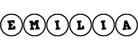 Emilia handy logo
