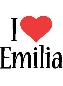 Emilia Logo | Name Logo Generator - I Love, Love Heart ...