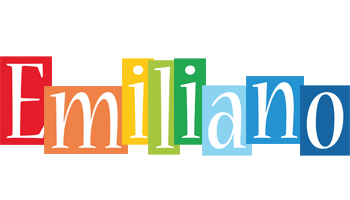 Emiliano colors logo