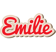 Emilie chocolate logo