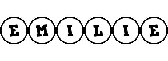 Emilie handy logo