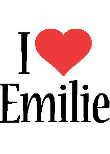 Emilie i-love logo