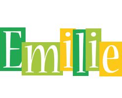 Emilie lemonade logo