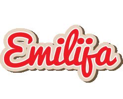 Emilija chocolate logo