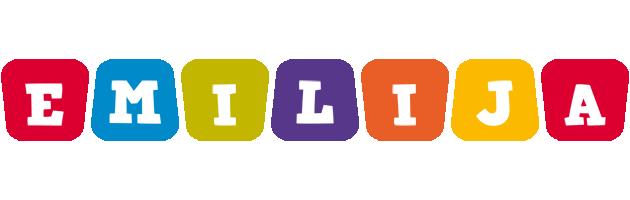 Emilija daycare logo