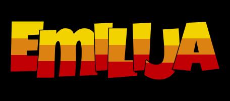 Emilija jungle logo