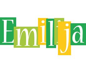 Emilija lemonade logo