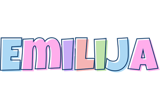 Emilija pastel logo