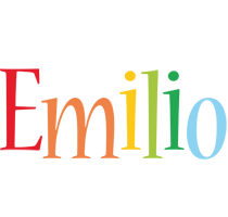 Emilio birthday logo