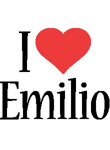 Emilio i-love logo