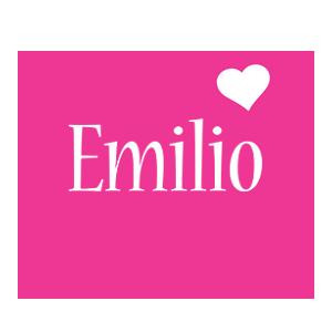Emilio love-heart logo