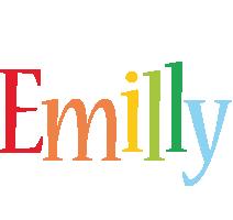 Emilly birthday logo