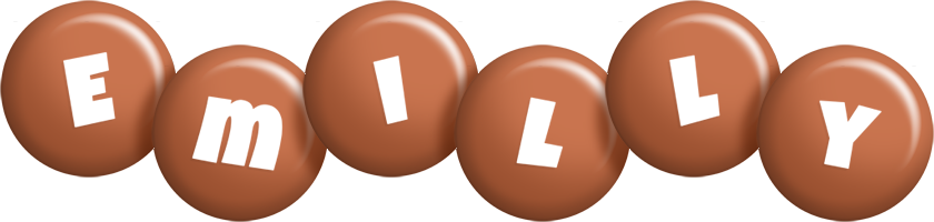 Emilly candy-brown logo
