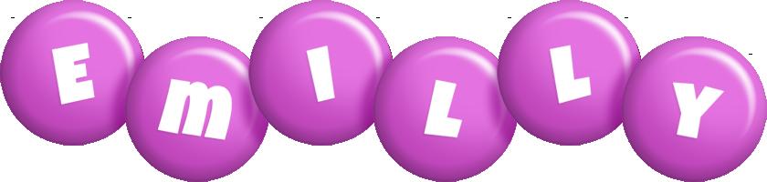 Emilly candy-purple logo